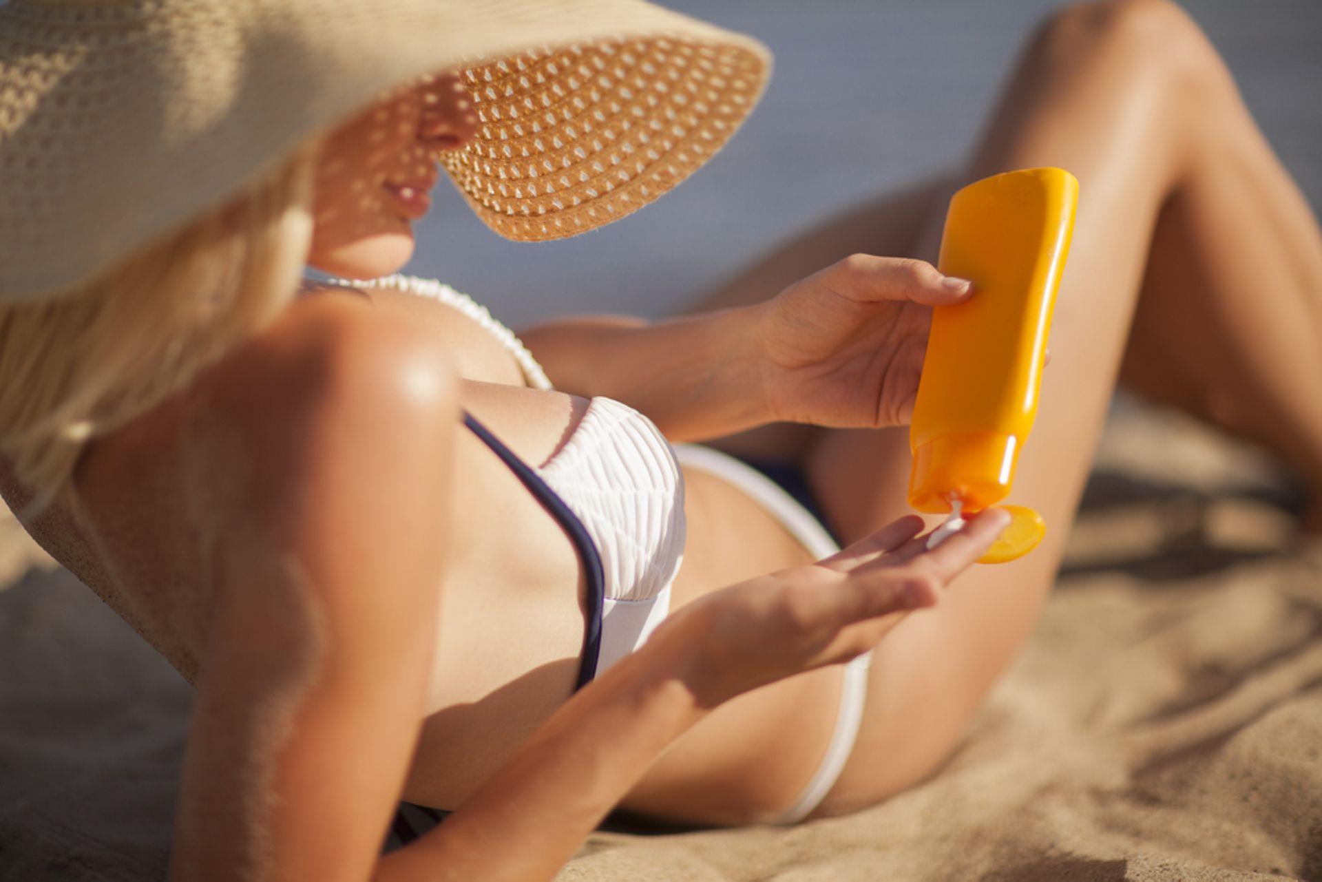 Крем для защиты от солнца
