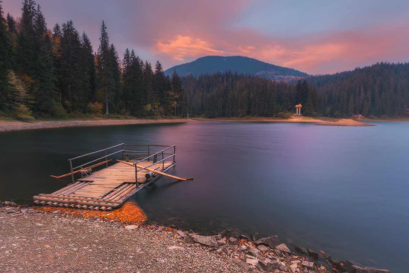Украина. Закарпатье. Озеро Синевир
