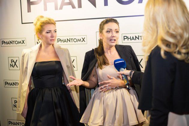 Полина Крупчак и Наталия Рудкина (PhaNtomX) - Премьера видеоклипа PhaNtomX - Bolshe (2017)