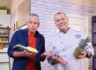 Постное меню от Дромова и Доманского: Рис с овощами по-тайски в ананасе