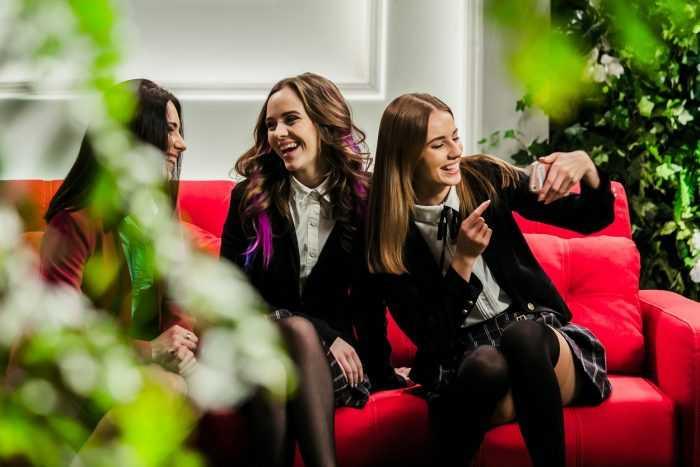 Irina Kudashova, Liza Vasilenko, YAnina Andreeva