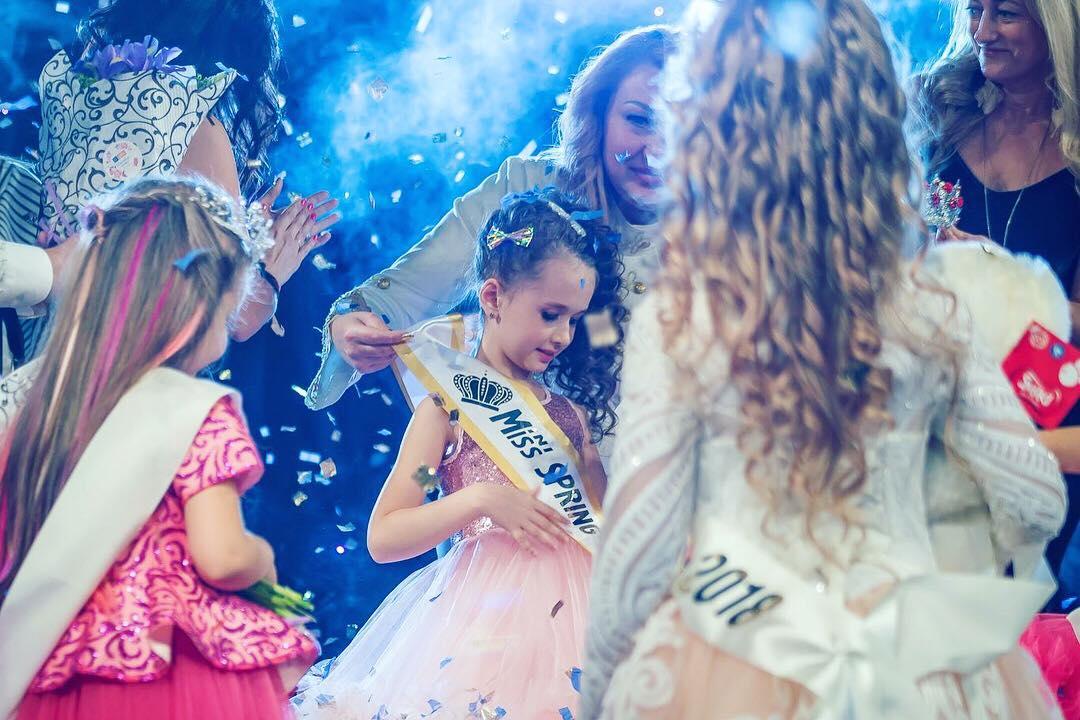 Финал конкурса красоты и талантов «Mini Miss Spring Ukraine 2018» 1