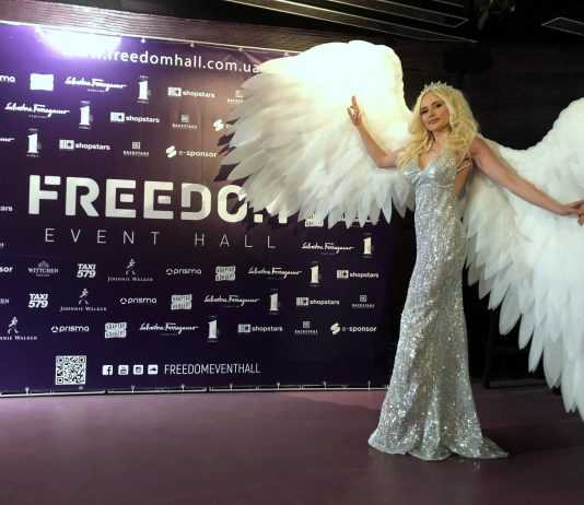 украинская певица ANGELA Freedom