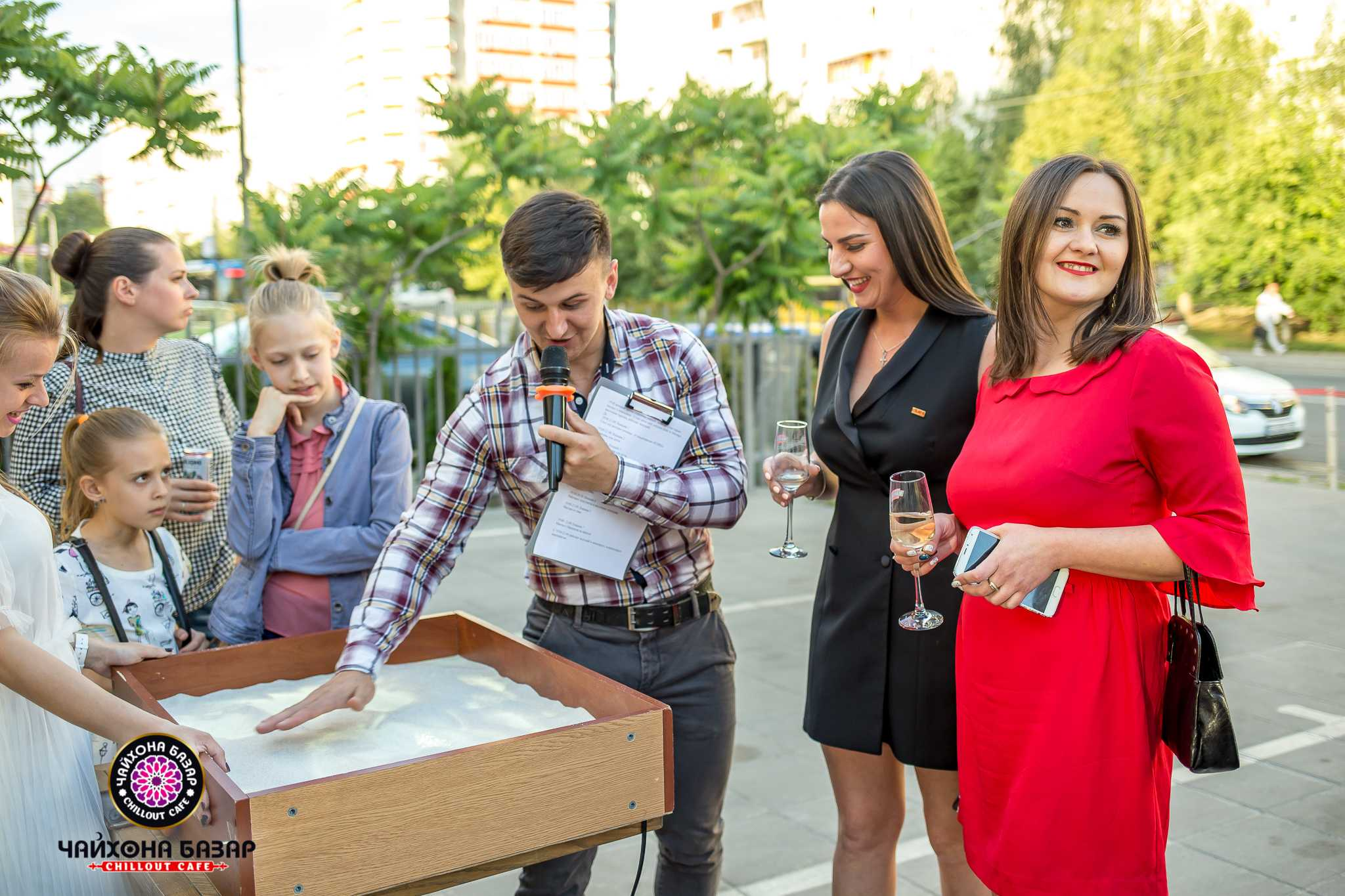 Грандиозное открытие нового ресторана «Чайхона Базар» 1