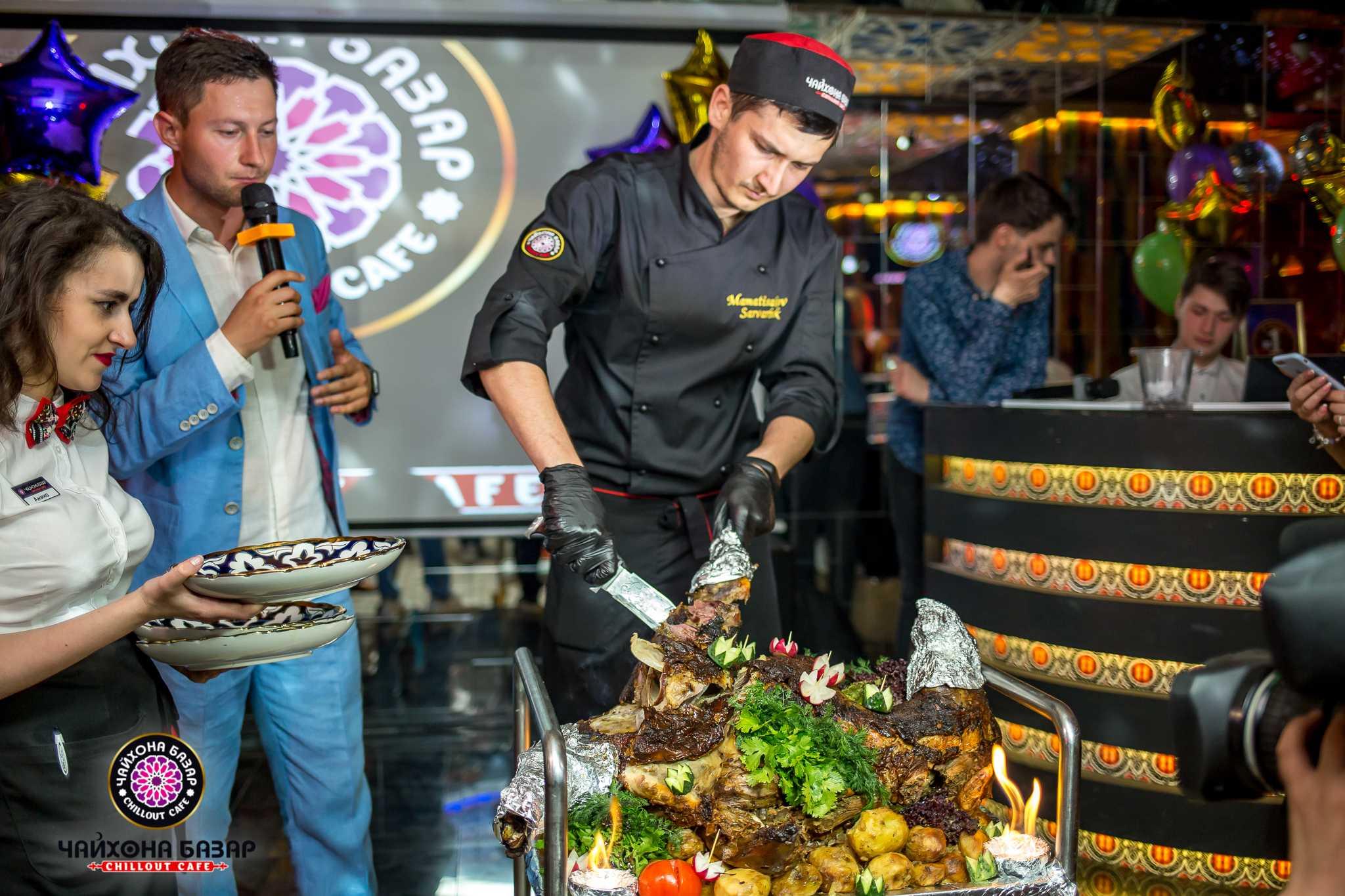 Грандиозное открытие нового ресторана «Чайхона Базар» 8