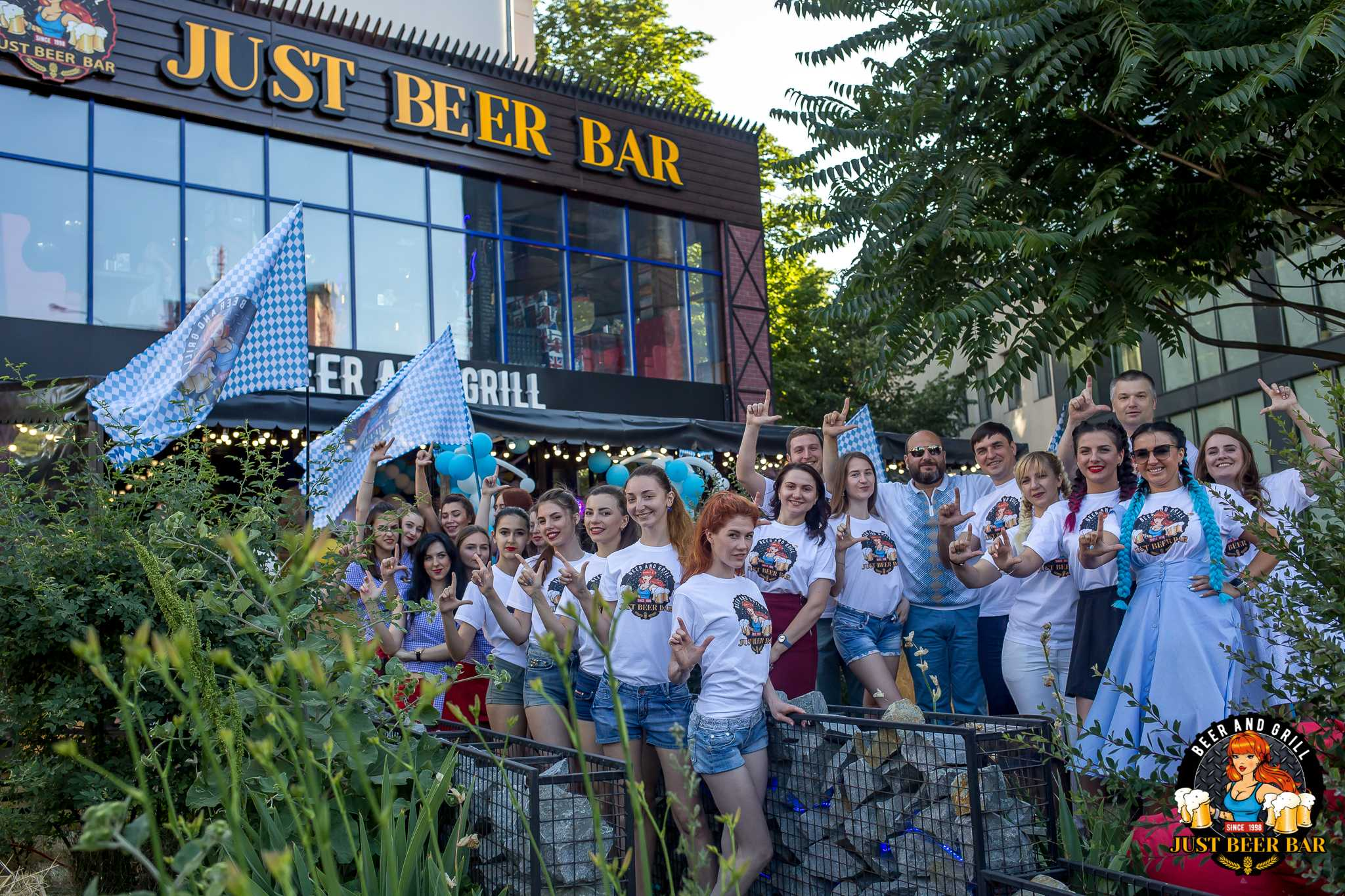 Как прошло открытие нового пивного ресторана «Just Beer Bar» в Киеве 1
