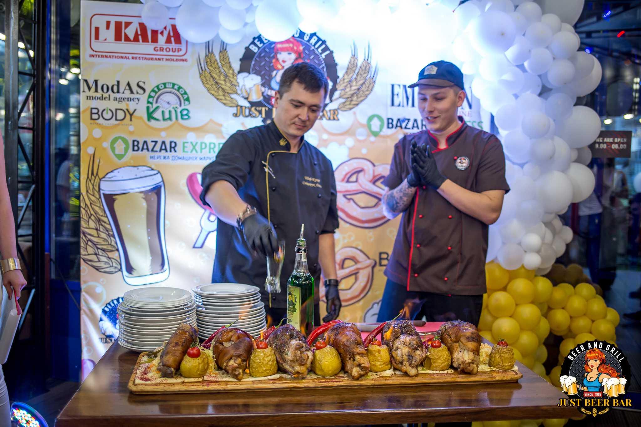 Как прошло открытие нового пивного ресторана «Just Beer Bar» в Киеве 3
