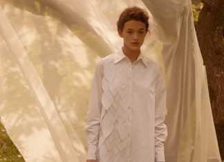 Лесная песня, лилия и образ Мавки в новой коллекции - Total White x SHUSHAN 10