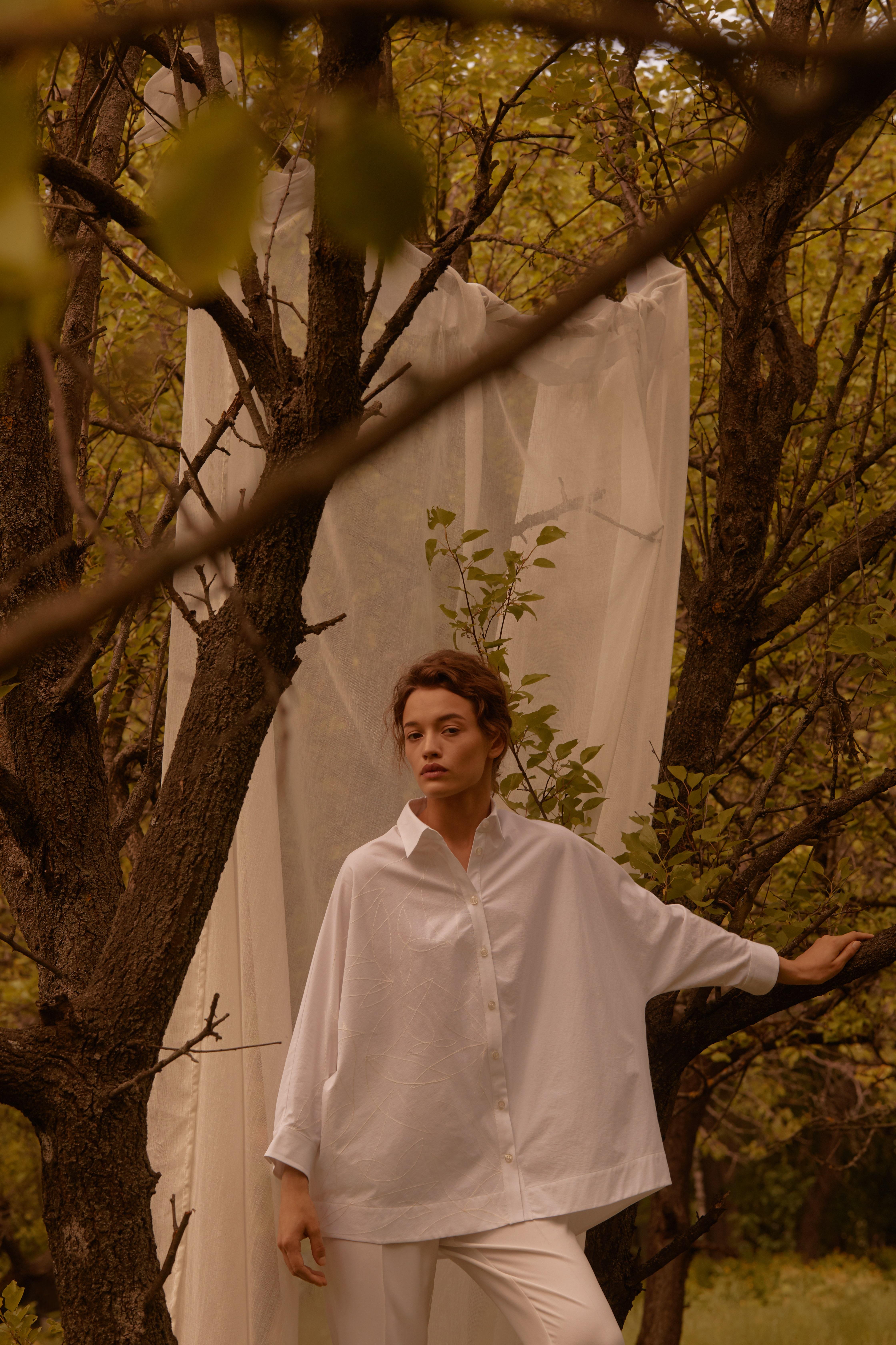 Лесная песня, лилия и образ Мавки в новой коллекции - Total White x SHUSHAN 5