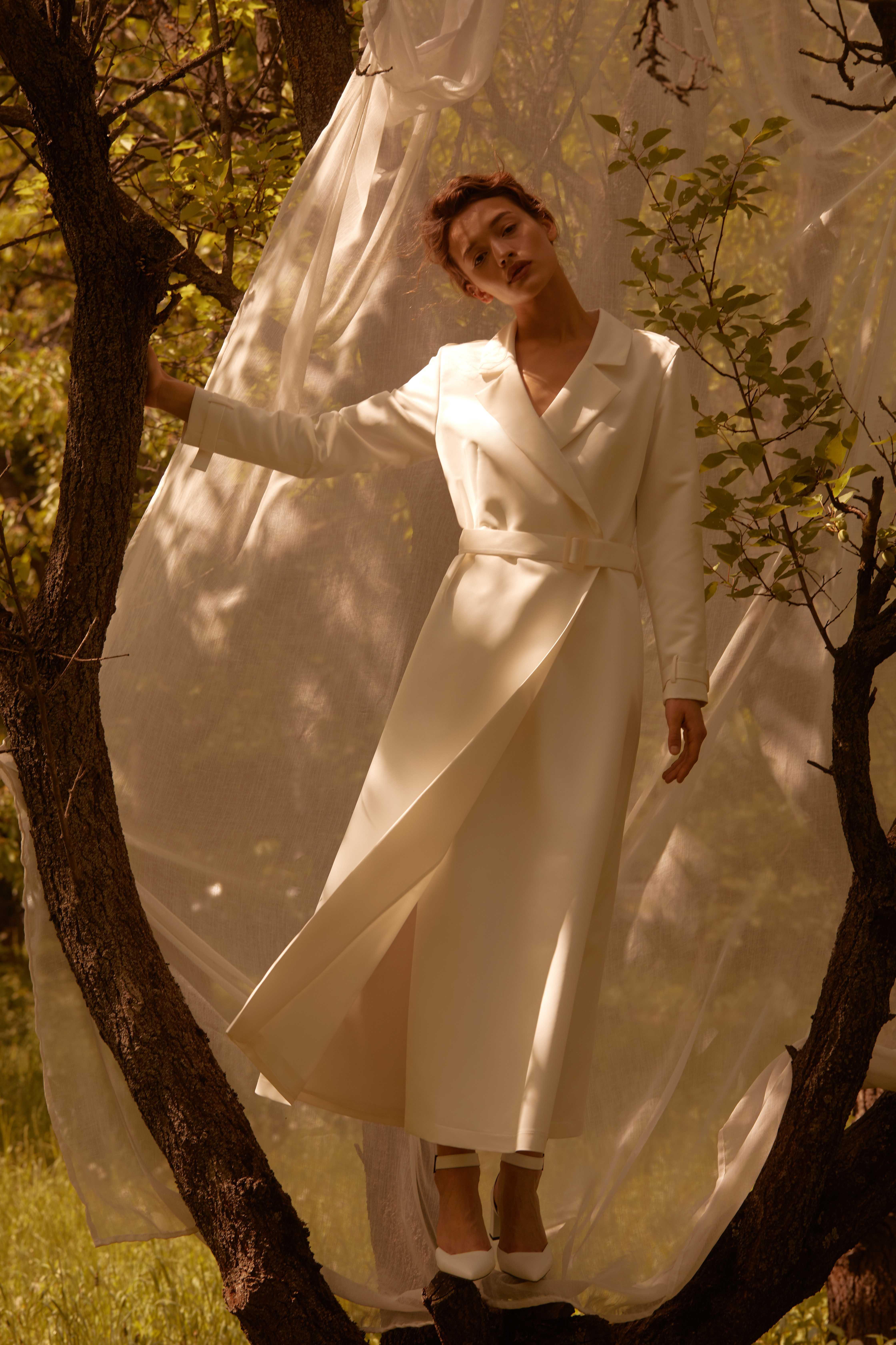 Лесная песня, лилия и образ Мавки в новой коллекции - Total White x SHUSHAN 6