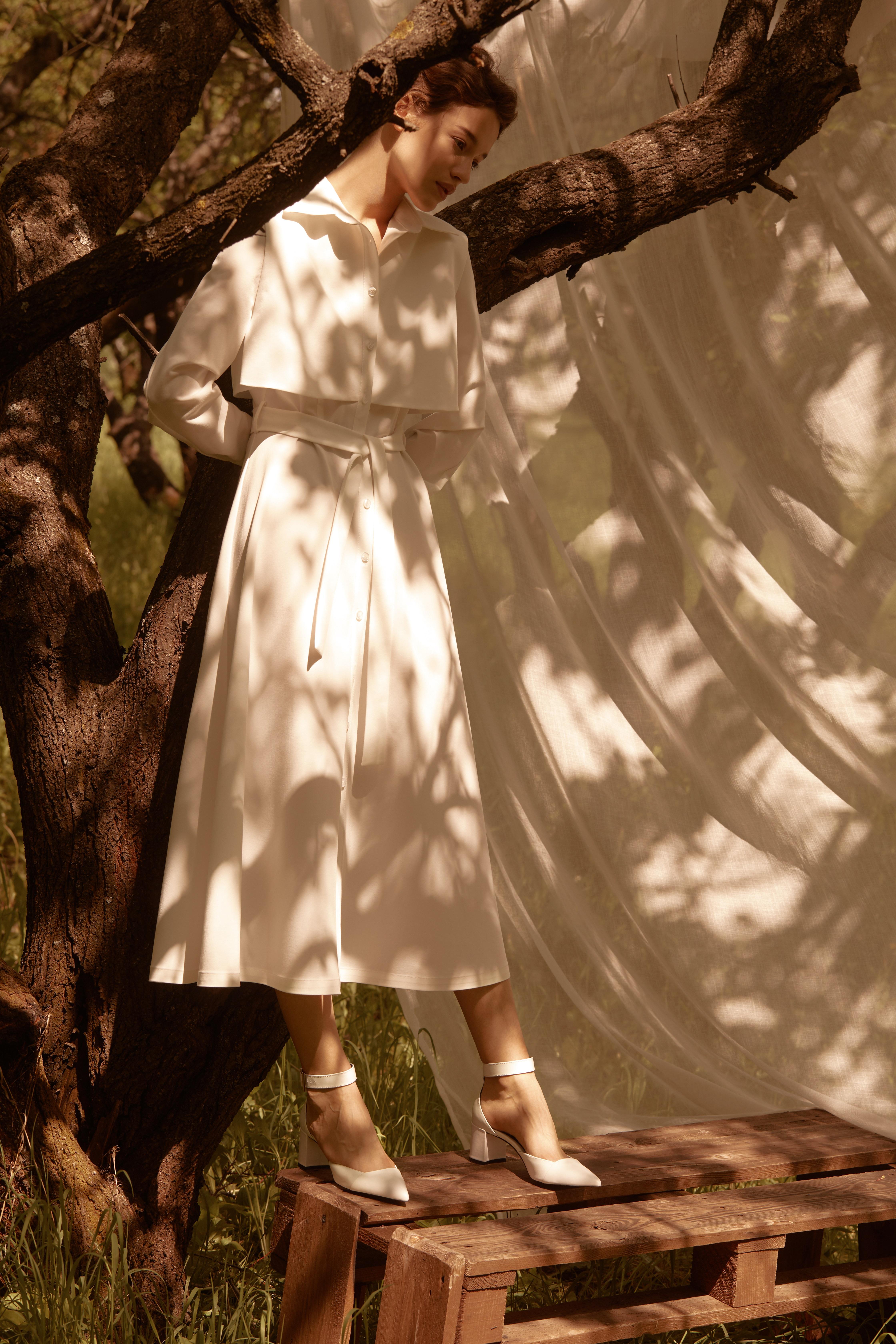 Лесная песня, лилия и образ Мавки в новой коллекции - Total White x SHUSHAN 7