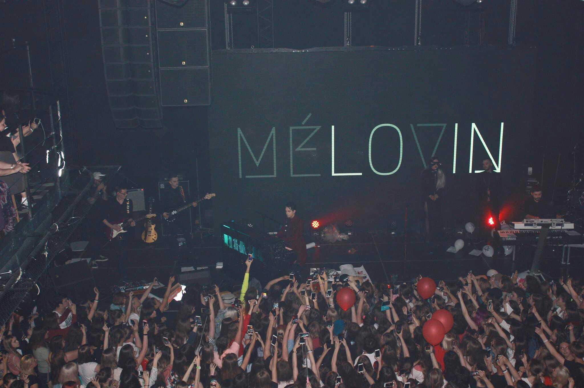 первый сольный концерт MELOVIN после Евровидения 4