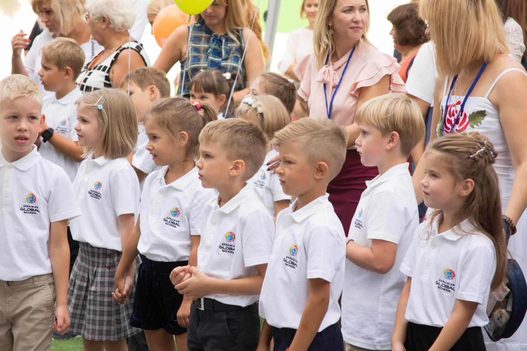 3 сентября в Киеве открылась частная школа будущего Ukrainian Global School