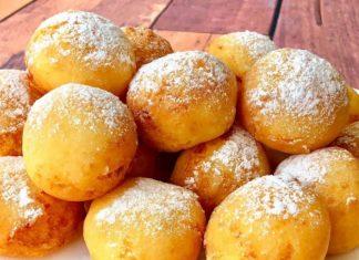 Видеорецепт вкусных творожных пончиков