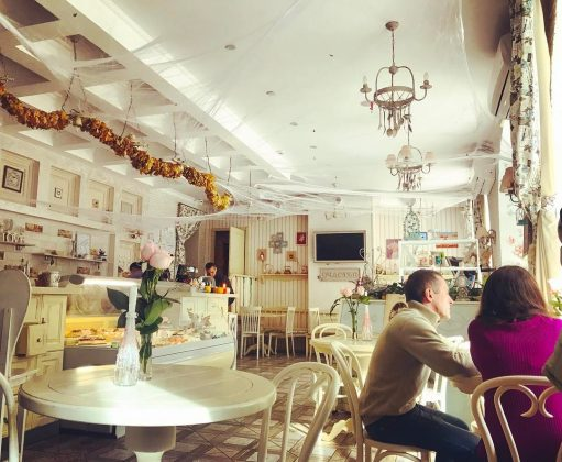 10 самых уютных кофеен Кропивницкого Кафе-кондитерская «Счастье» 7