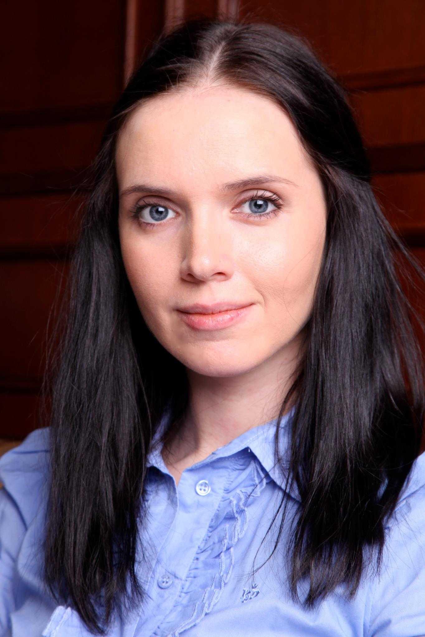 Украинская телеведущая Янина Соколова