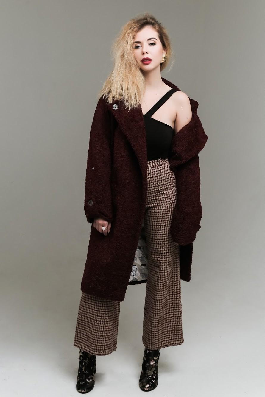 Искусственный мех в коллекции пальто SOLH 4