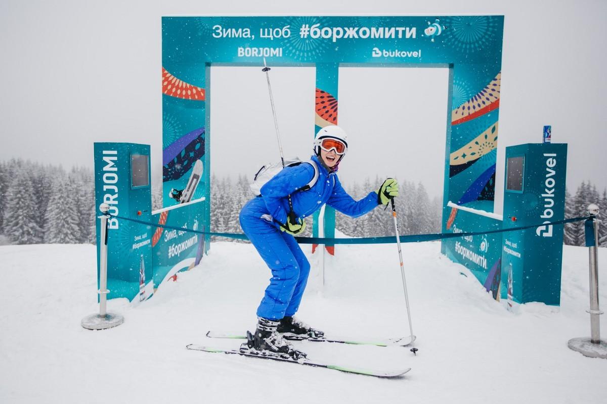 В Буковеле открыли первый в Украине бесплатный парк зимних развлечений 4
