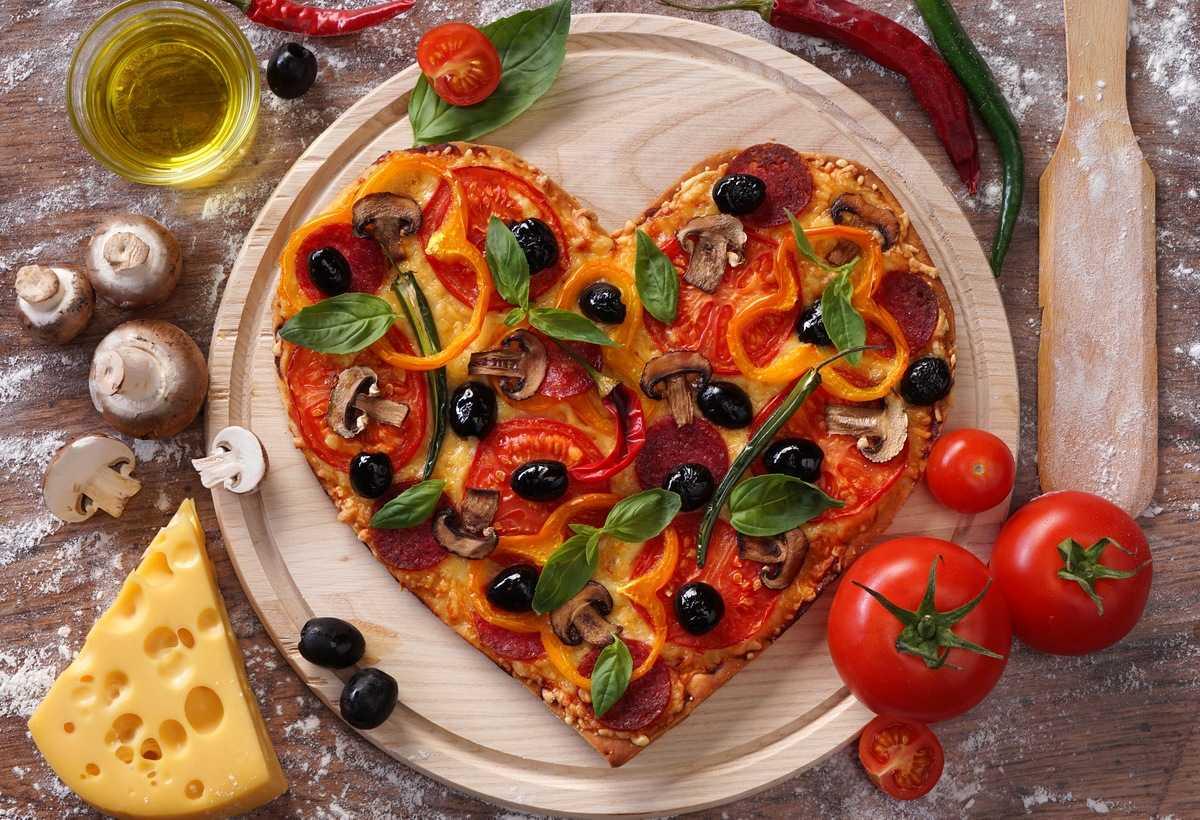 4 блюда ко Дню Святого Валентина
