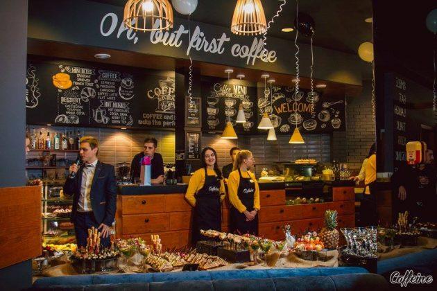 8 интересных кофеен города Черкассы Caffeine 1