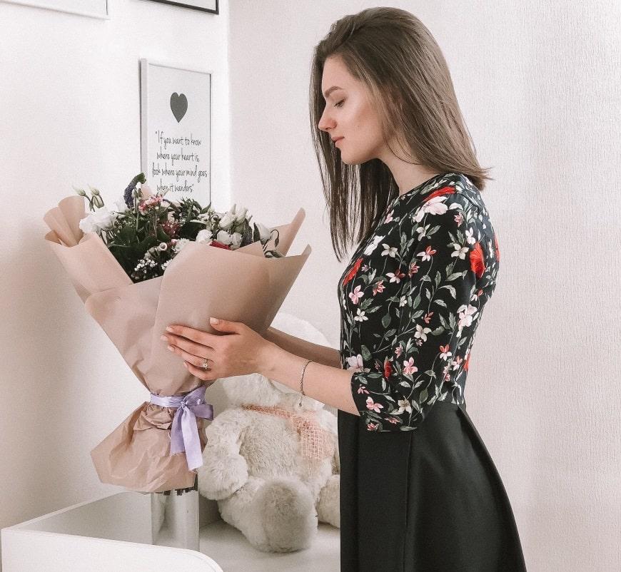 Блуза украинского бренда одежды NINE празднует День Рождения 10