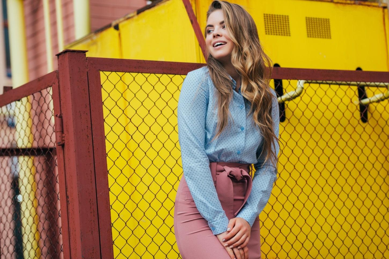 Блуза украинского бренда одежды NINE празднует День Рождения 11