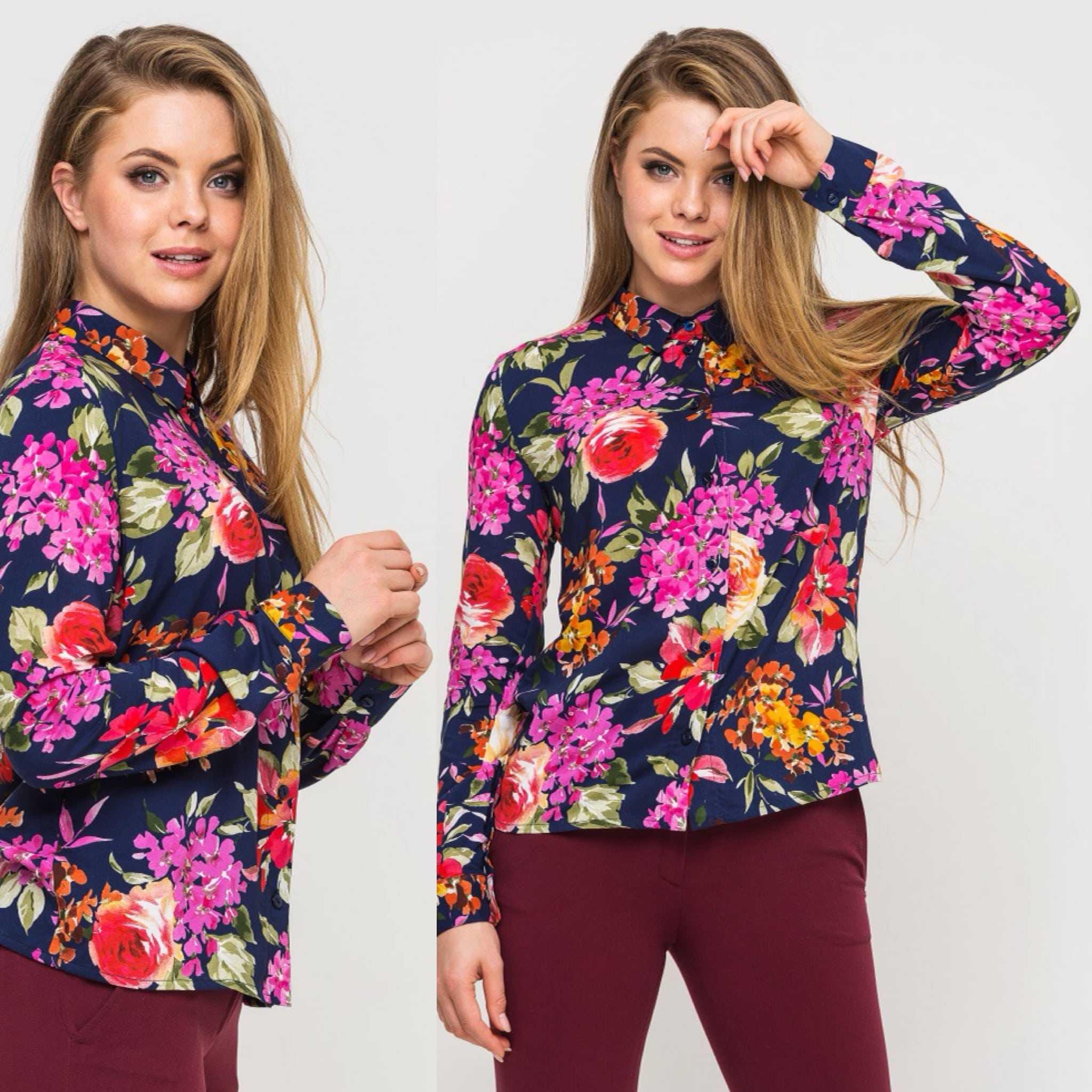 Блуза украинского бренда одежды NINE празднует День Рождения 6