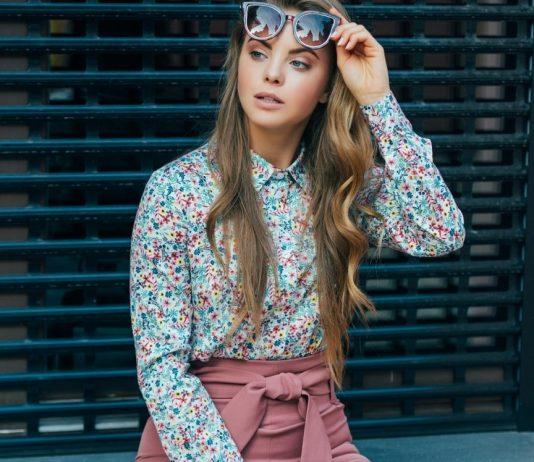 Блуза украинского бренда одежды NINE празднует День Рождения
