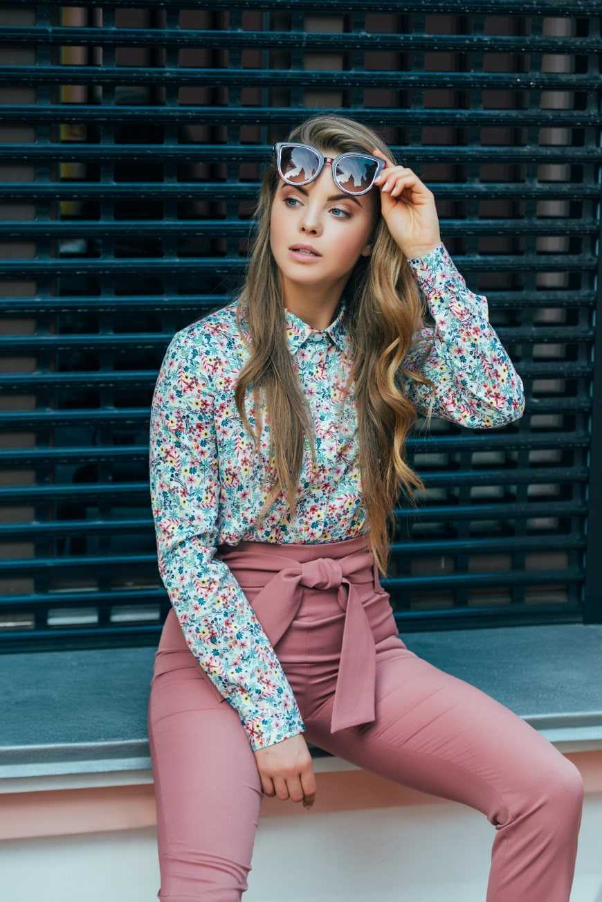 Блуза украинского бренда одежды NINE празднует День Рождения 7