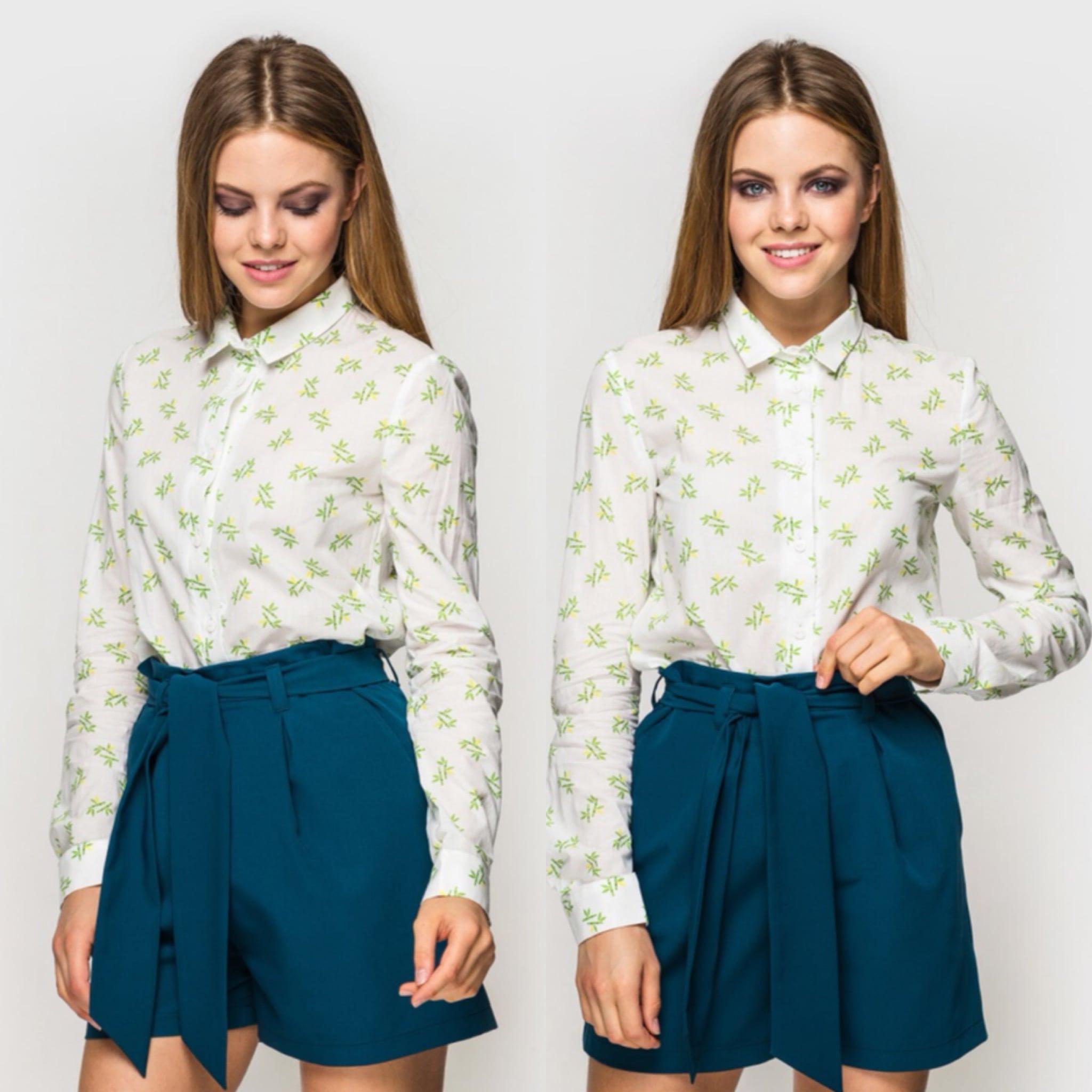 Блуза украинского бренда одежды NINE празднует День Рождения 8