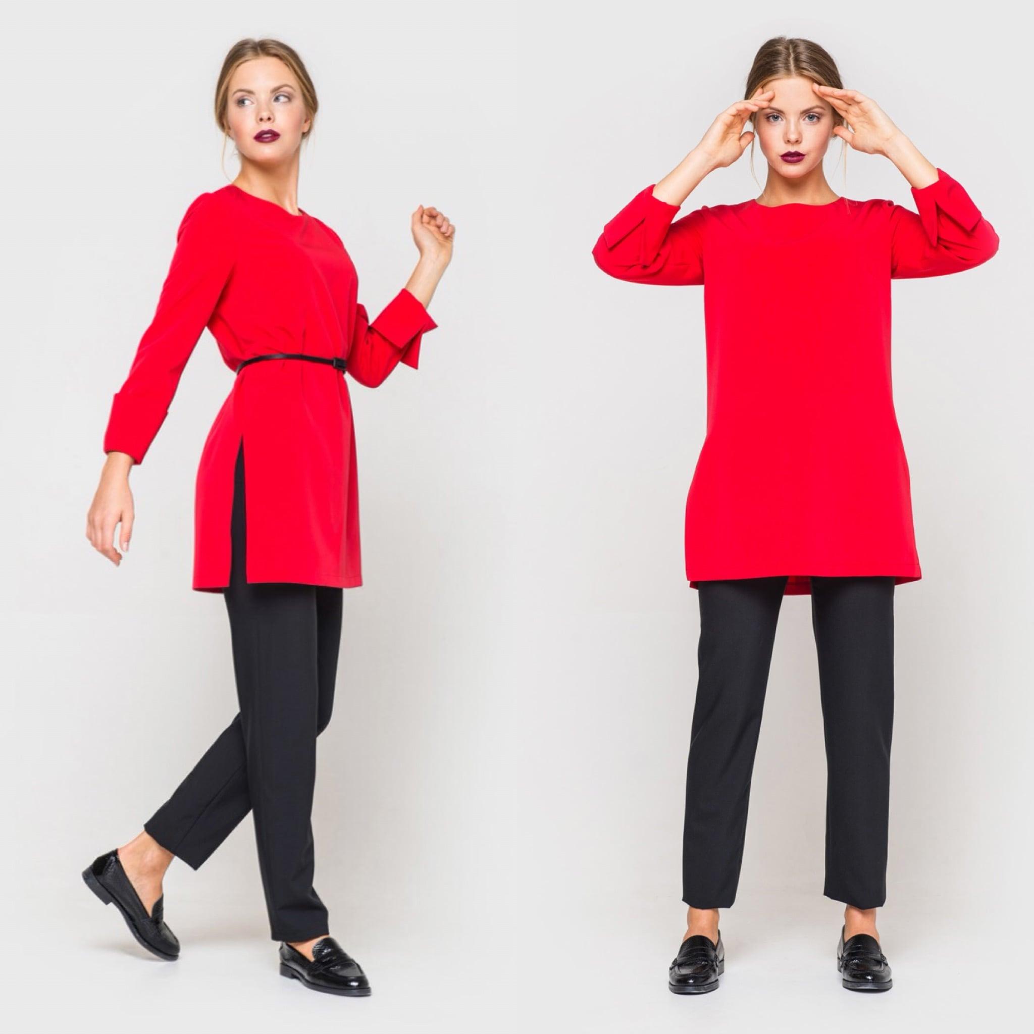 Блуза украинского бренда одежды NINE празднует День Рождения 9