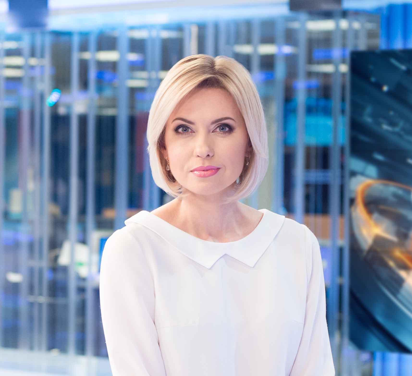 Человек года – 2018 лауреаты общенациональной программы в номинации Телевизионный журналист года Ольга Грицык