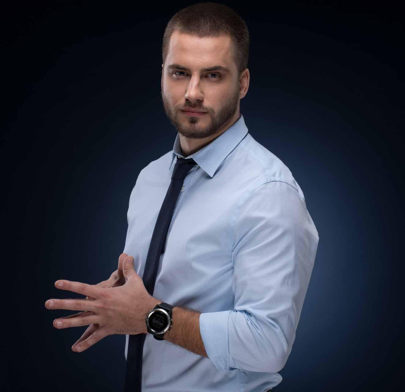 Человек года – 2018 лауреаты общенациональной программы в номинации Телевизионный журналист года Владимир Полуев