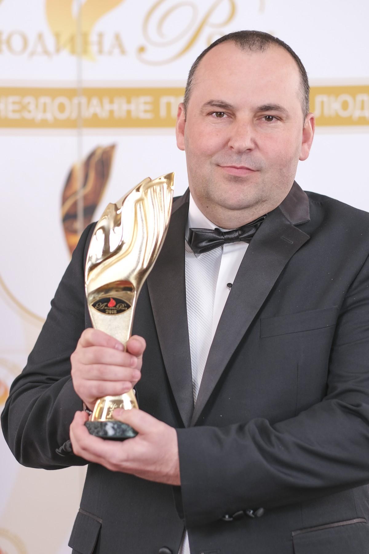 Человек года – 2018 награждение победителей 23 общенациональной премии Майструк