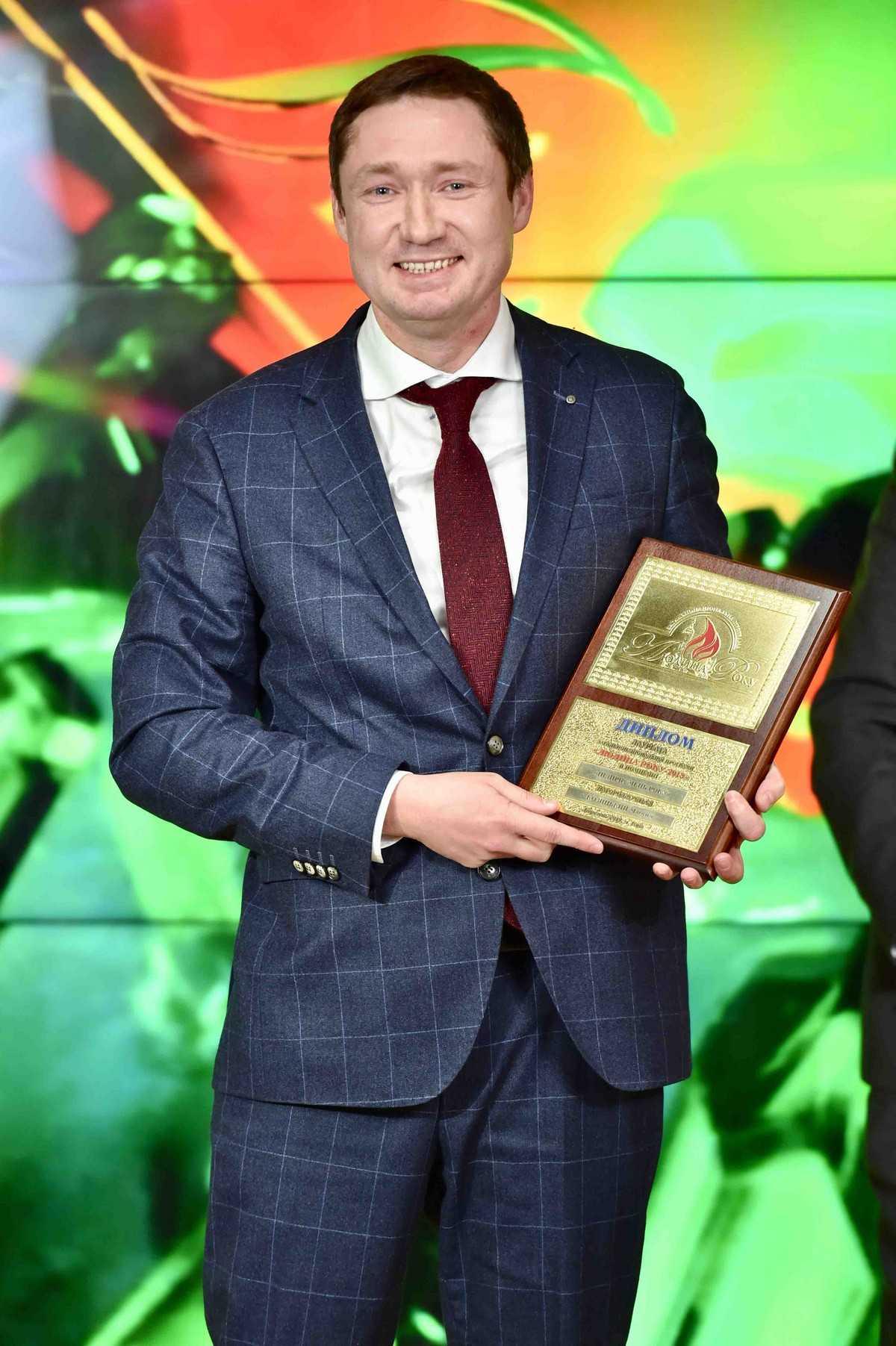 Максим Козицкий. Номинация – «Предприниматель года»
