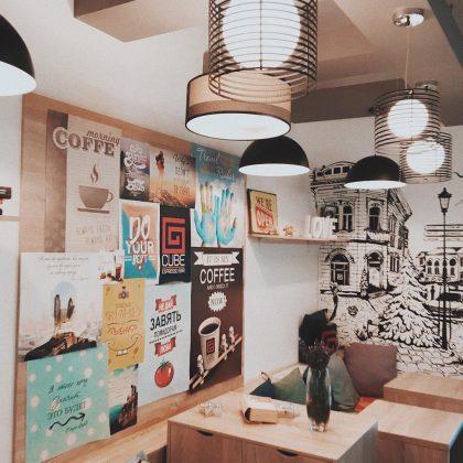 Самые популярные кофейни Белой Церкви - CUBE espresso bar