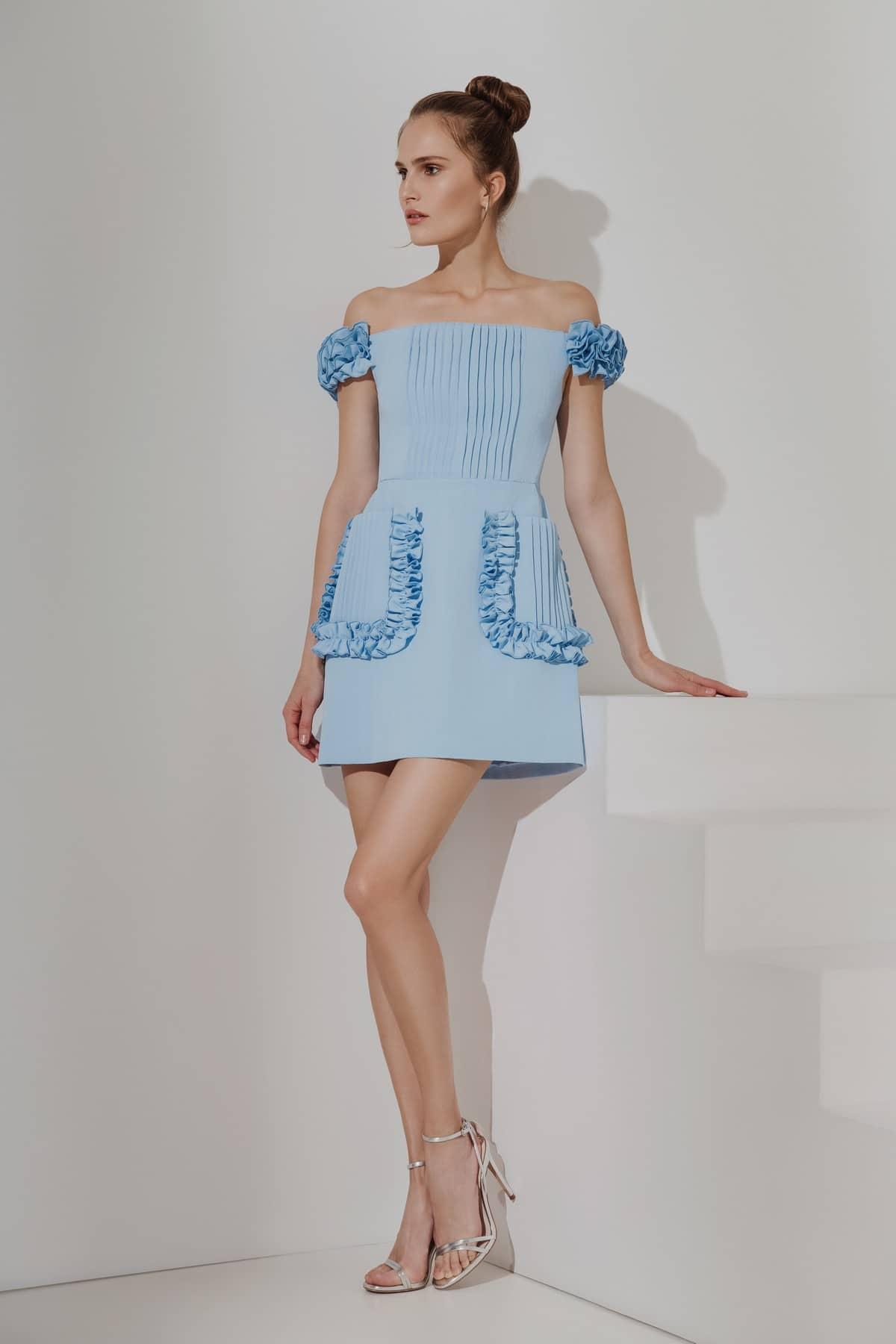 Алла Костромичева в лукбуке новой весенне-летней коллекции Elena Guranda 10