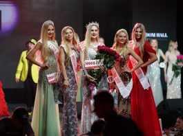 Дима Коляденко сделал предложение на конкурсе Miss Blonde Ukraine 2019 3