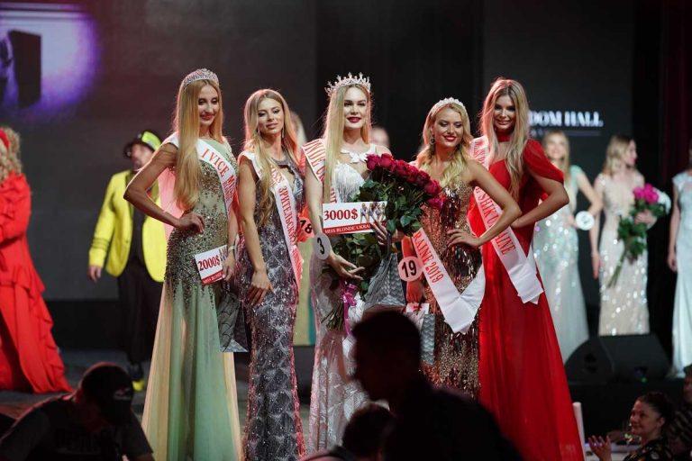 Дима Коляденко сделал предложение на конкурсе красоты Miss Blonde Ukraine 2019