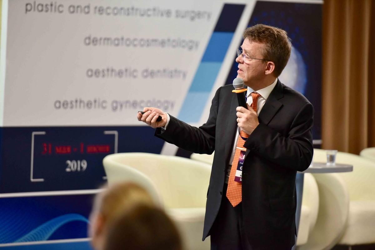 Medical Aesthetic Synergy Congress прошел 31 мая - 1 июня 2019 года в Киеве- Florian C. Heydecker