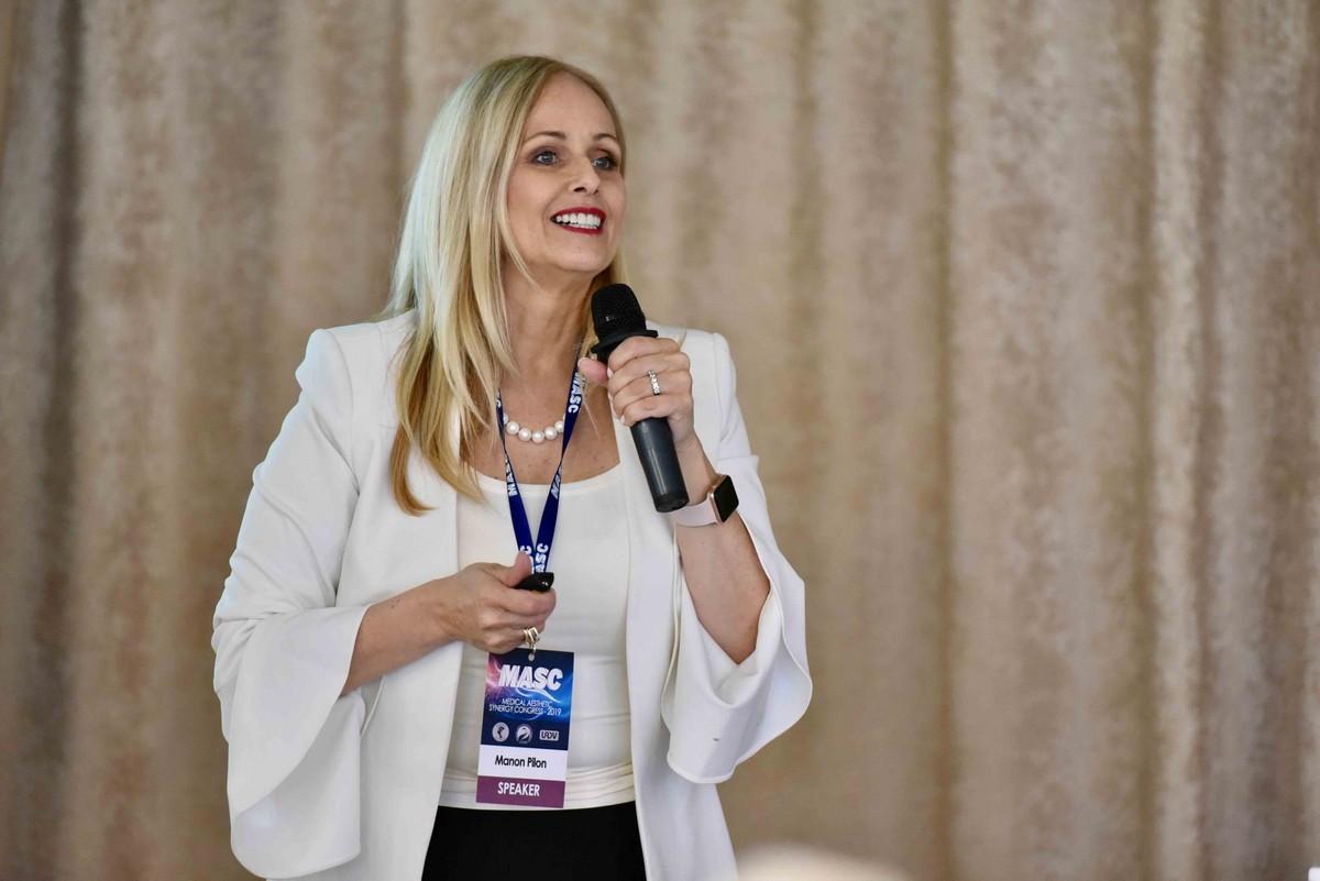 Medical Aesthetic Synergy Congress прошел 31 мая - 1 июня 2019 года в Киеве -Manon Pilon