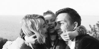 Теле- ирадиоведущий Андрей Черноволнежно поздравил жену сднём рождения сына logo