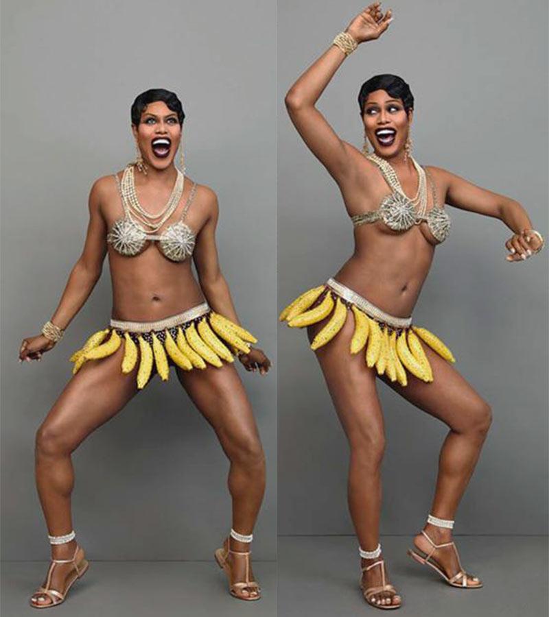 Банановая королева моды Josephine Baker_4