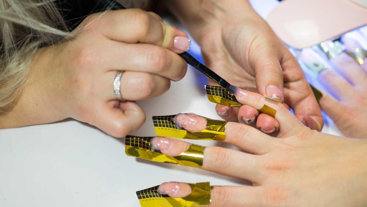 Вводная статья про наращивание ногтей