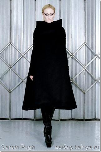 Пальто силуэта трапеция gareth pugh