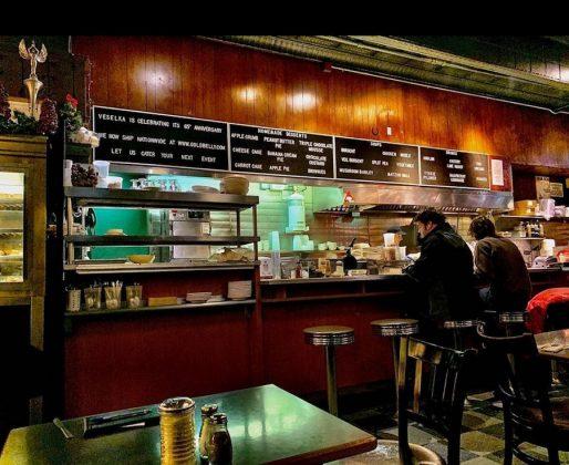 Veselka ресторан украинской кухни в Нью-Йорке 2