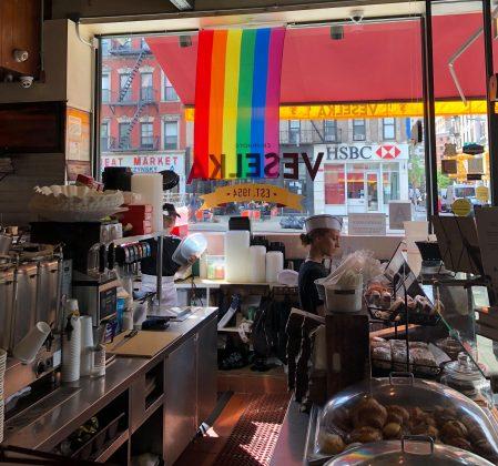 Veselka ресторан украинской кухни в Нью-Йорке 4