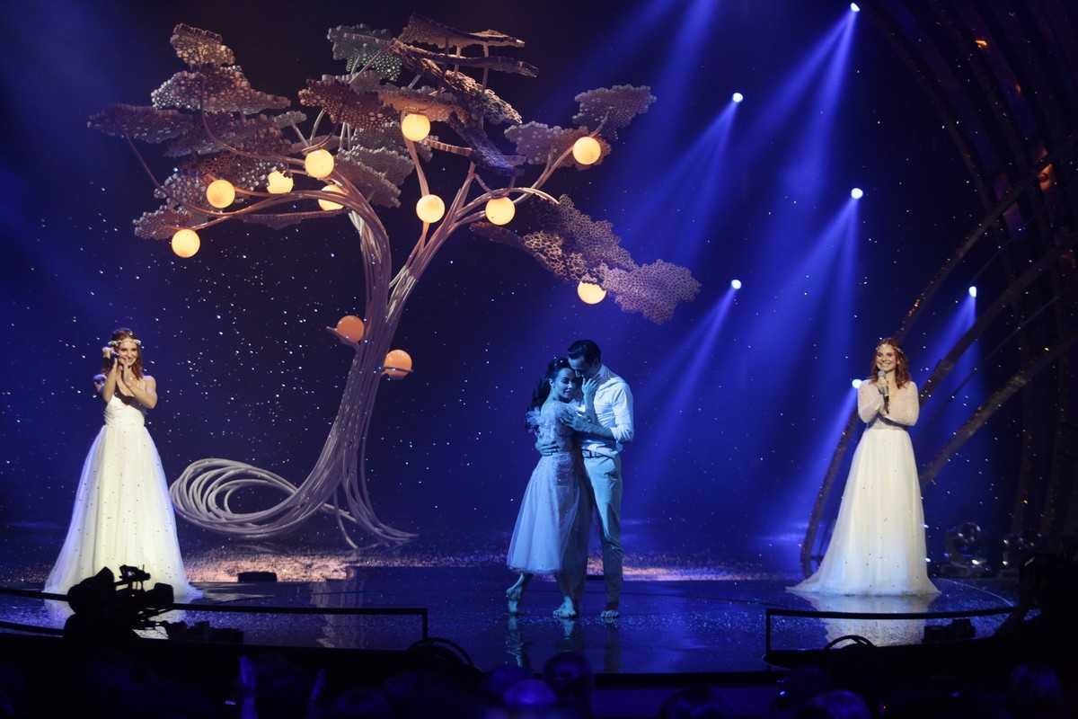 дуэт ANNA MARIA и премьер Национальной Оперы Украины Екатерина Кухар и Александр Стоянов