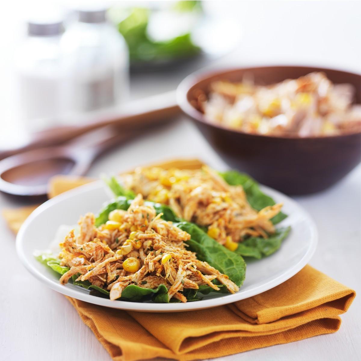 Салат з крабів і кукурудзи