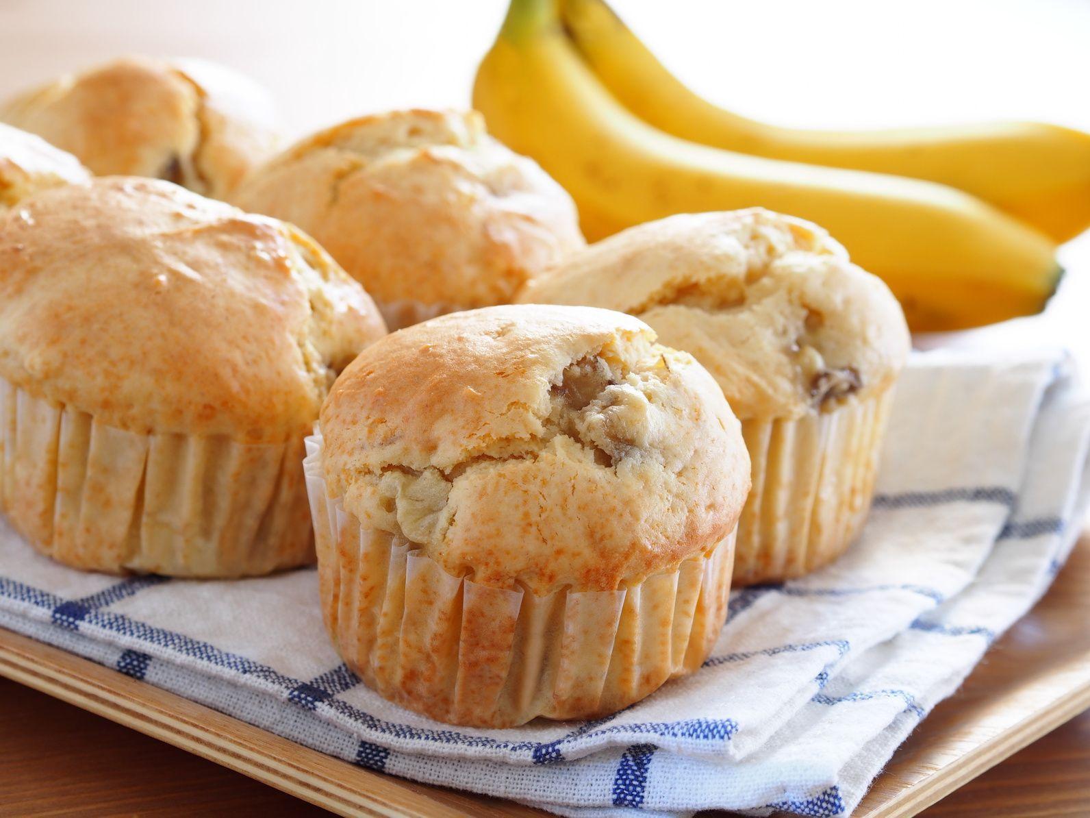 Бананові булочки